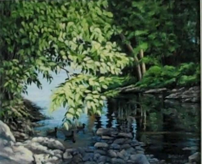 La petite rivière cachée