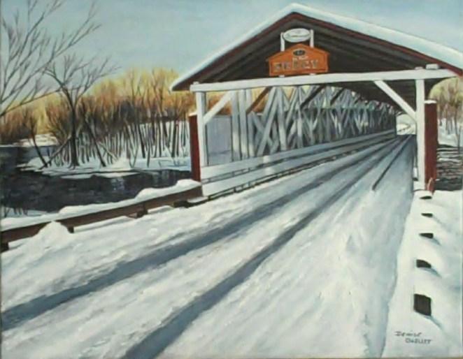 Pont Percy en hiver