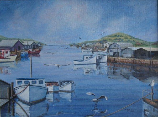 Port de pêche Maritimes
