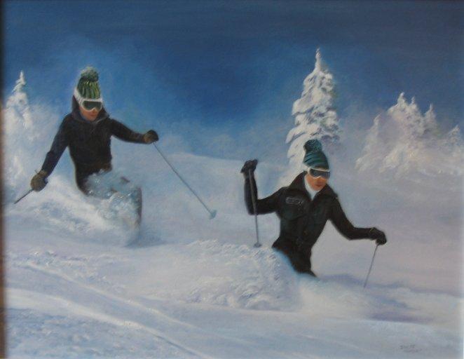 Skieurs