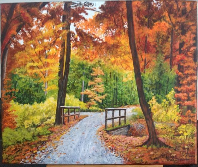 L'automne dans les Cantons